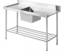 dishwasher inlet bench