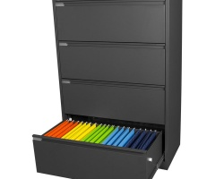 steelco_4_drawer_lateral_filing_cabinet_open